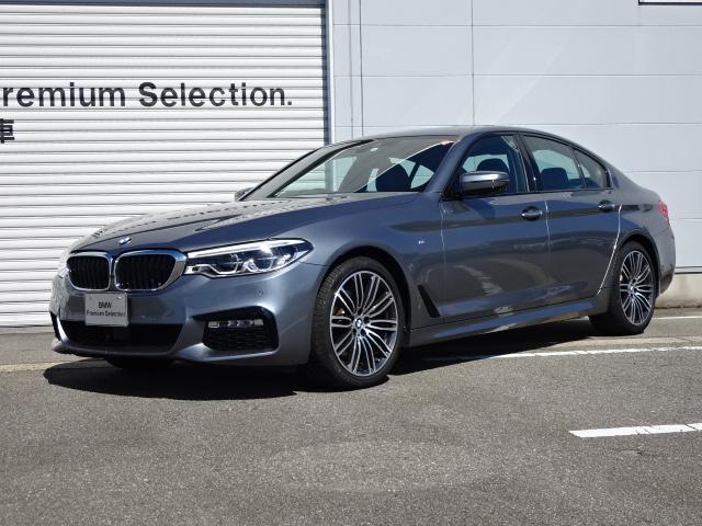 BMW 5シリーズ 523i Mスポーツ 認定中古車 黒レザー ハイライン