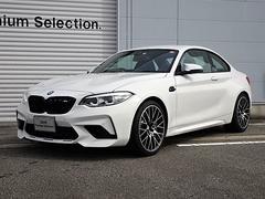 BMW M2コンペティション 元デモカー 黒レザーシート 純正19AW