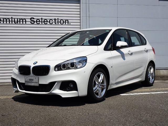 BMW 218dアクティブツアラー Mスポーツ 2年保証 純正ナビ