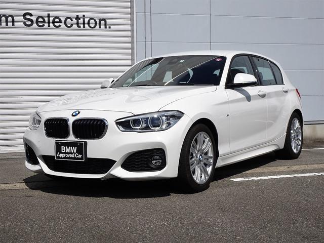 BMW 118i Mスポーツ 認定中古車 純正HDDナビゲーション パーキングサポートPKG 前車接近警告機能 被害軽減ブレーキ 車線逸脱警告機能 クルーズコントロール Musicサーバー Bluetooth