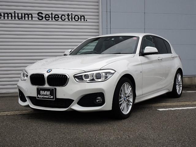 BMW 1シリーズ 118d Mスポーツ 認定中古車 社外地デジチューナー 純正HDDナビ バックカメラ ミラー内蔵型ETC LEDヘッドライトクルーズコントロール 車線逸脱警告機能 前車接近警告機能 被害軽減ブレーキ