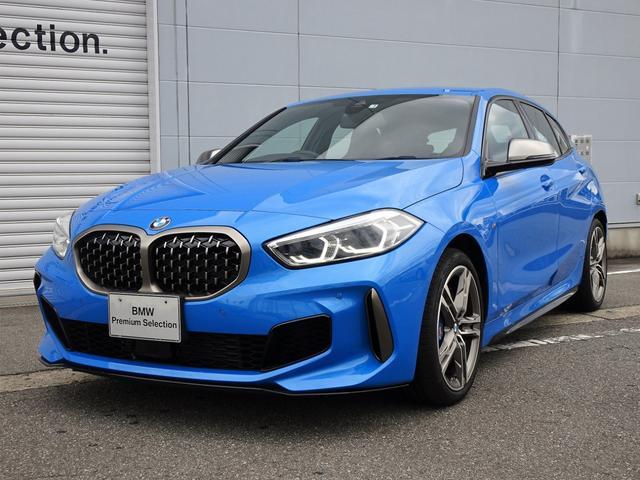 1シリーズ(BMW) M135i xDrive 純正HDDナビゲーション ミラー内蔵型ETC アクティブクルーズコントロール 被害軽減ブレーキ 車線逸脱警告機能 LEDヘッドライト レーンチェンジウォーニング 電動テールゲート シートヒーター 中古車画像