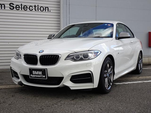 BMW M235iクーペ 純正LSD取り付け ミラー内蔵型ETC クルーズコントロール バイキセノンヘッドライト 被害軽減ブレーキ 車線逸脱警告機能 純正18インチアロイ・ホイール ミュージックサーバー 電動シート