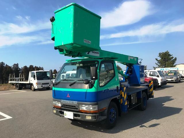 三菱ふそう 高所作業車 TADANO製12m 積載荷重200kg