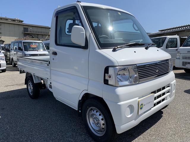三菱  Sカスタム 4WD エアコン パワステ 新品タイヤ