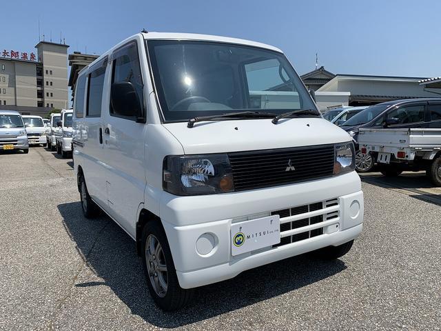 三菱 CD 4WD エアコン パワステ 13インチアルミ