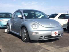 VW ニュービートルプラス サンルーフ 革シート ナビ ETC キーレス