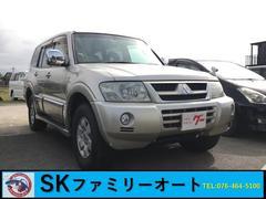 パジェロロング エクシード−II 4WD ナビ Bカメラ ETC