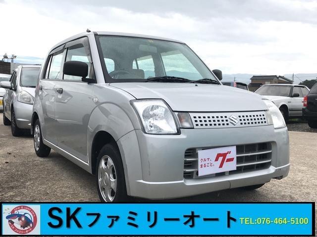 スズキ E 軽自動車 フロアAT エアコン 4人乗り パワステ