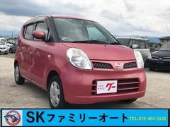 モコE 軽自動車 インパネAT エアコン 4名乗り CD AUX