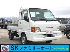 サンバートラック4WD AC MT 軽トラック ホワイト