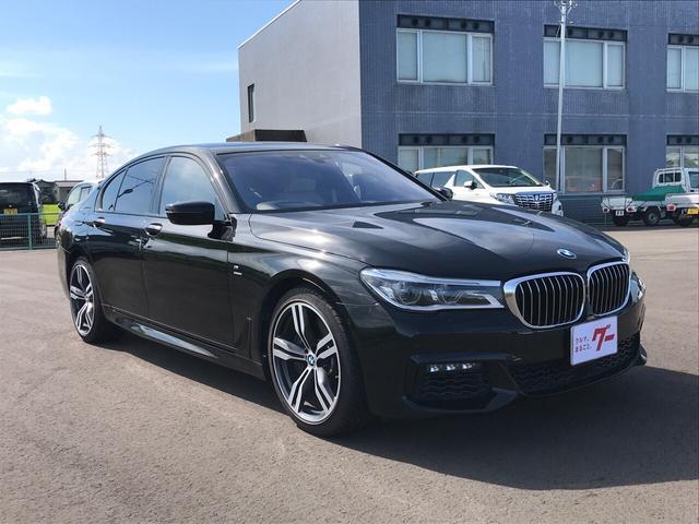 BMW 7シリーズ 750i Mスポーツ ナビ 革シート バックカメラ SR