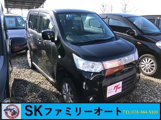 スズキ X ナビ 軽自動車 ブラック CVT AC AW 4名乗り