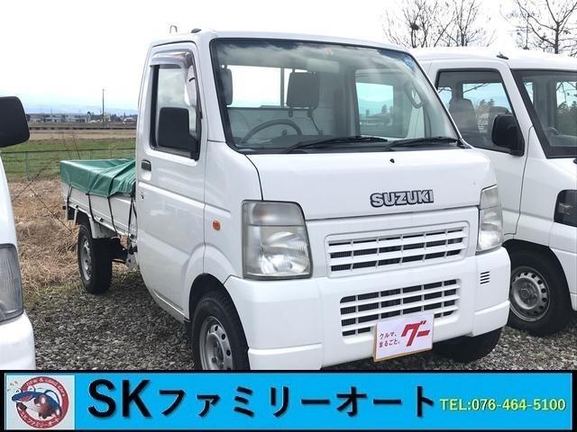 スズキ 4WD MT 軽トラック 白