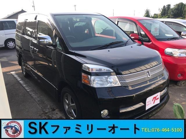 「トヨタ」「ヴォクシー」「ミニバン・ワンボックス」「富山県」「SKファミリーオート」の中古車