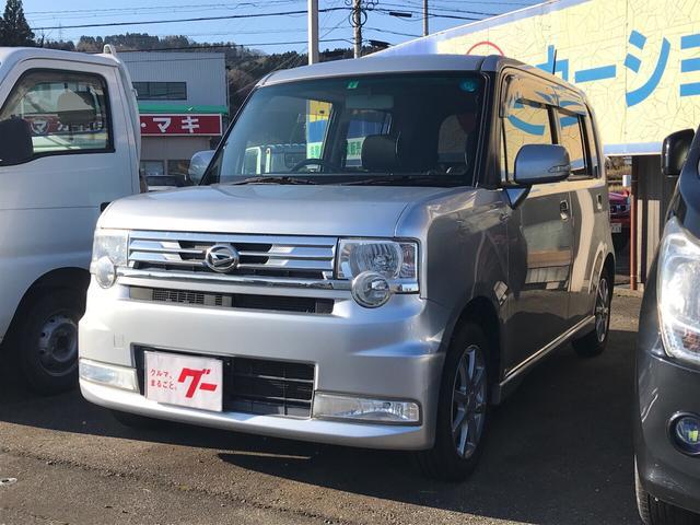 ダイハツ カスタム G ナビ 軽自動車 4WD