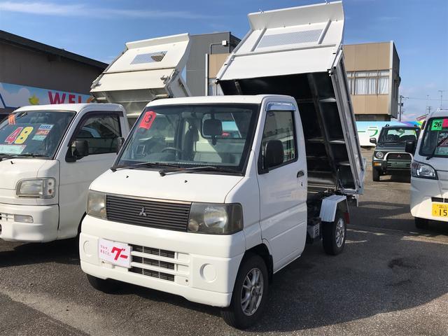 三菱 ダンプ タイミングベルト交換 4WD エアコン パワステ アルミ