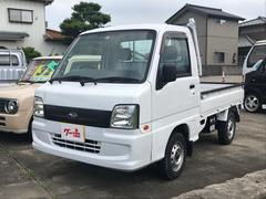 サンバートラック4WD AC MT 軽トラック ホワイト エアバック