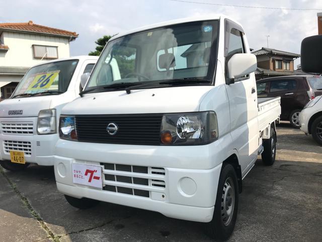 日産 DX 4WD 5MT エアコン パワステ 作業灯 軽トラック