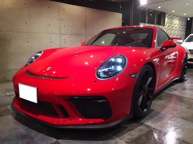 ポルシェ 911GT3 クラブスポーツ Fリフト レザーインテリア