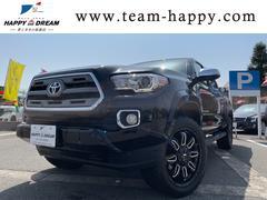 タコマダブルキャブ LTD 4WD 新車並行 アメリカ産