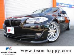 BMW528iツーリング ジオバンナ20AW ダウンサス 本革