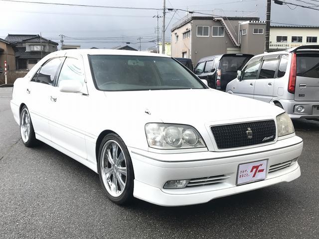 トヨタ アスリートV 純正ナビ ETC付き HIDフォグライト