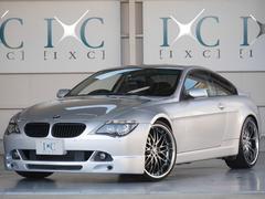 BMW630iエアロパッケージ 22インチアルミ ローダウンサス