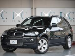 BMW X53.0siスポーツPKG 黒本革 19インチAW HDDナビ