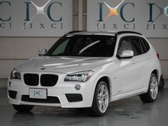 BMW X1xDrive 20i Mスポーツ 黒本革シート HDDナビ
