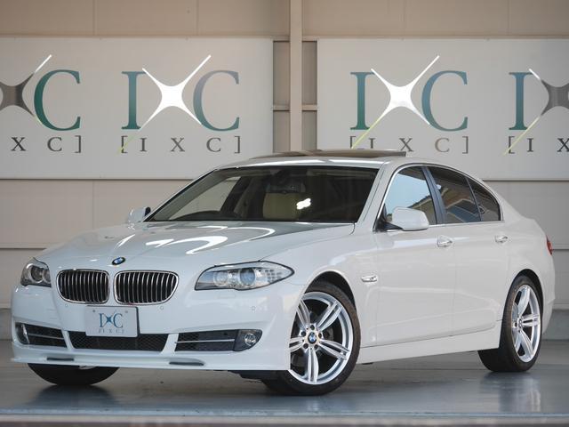 BMW 528iエアロパッケージ カスタム新品 19AW ベージュ革