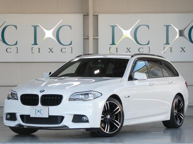 BMW 5シリーズ 523iツーリングMスポーツエアロPKG新品19AWナビTV