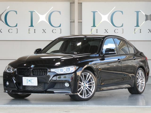BMW 3シリーズ 320d Mスポーツ HDDナビフルセグTV 衝突軽減ブレーキ 新品エアロ Mperformanceブレーキ 純正OP19インチAW 車線逸脱警告 ブラックグリル スポーツシート コンフォートアクセス フロントスポイラー