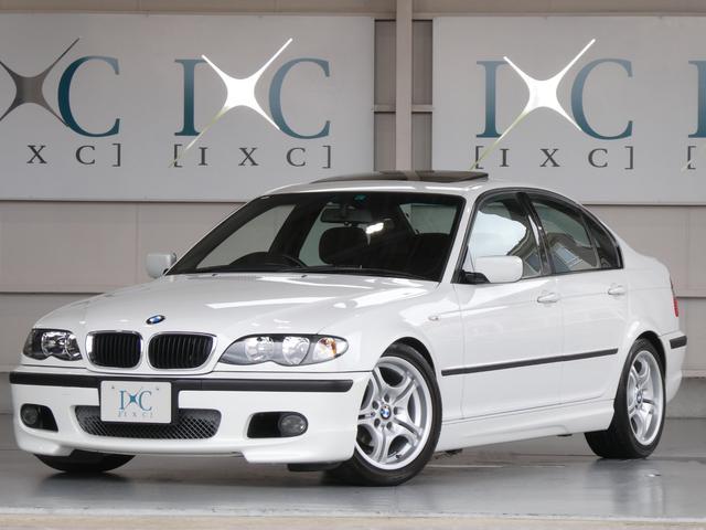 BMW 318i Mスポーツパッケージ 5速マニュアル車 サンルーフ 後期モデル DSC 電波式キーレス ナビ DVDビデオ再生 6連CDチェンジャー MD ETC スロットルコントローラー KW足回り ローダウン クルーズコントロール