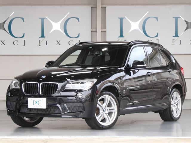 BMW X1 xDrive 20i Mスポーツ 4WD 後期型 純正HDDナビ バックカメラ DVDビデオ再生 ミュージックサーバー Bluetooth対応 USB AUX端子 18インチAW ミラーETC バイキセノンヘッドライト アルカンターラ
