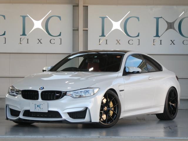 BMW M4 M4クーペ フルレザーメリノインテリア ハーマンカードン カーボンセラミックブレーキ STERCKENNカーボンエアロパーツ BBS RI-Dジュラルミン20インチ シュニッツァー車高調&マフラー  マフラー