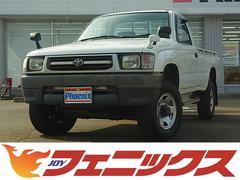 ハイラックスDX4WD ディーゼル5速MT サイドステップ ウッドデッキ