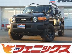 FJクルーザーブラックカラーパケ4WD1オーナSDナビ地デジBカメRラック
