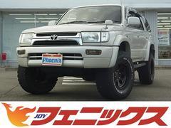 ハイラックスサーフSSR−Xワイド4WD 2インチリフトアップ簡易ベッド黒革調