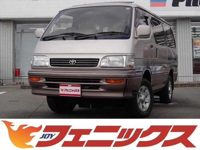 トヨタ スーパーカスタムリミテッド4WD軽油1オーナーHDDナビTV