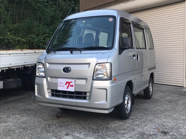 スバル 660 トランスポーター 4WD AC AT 軽バン