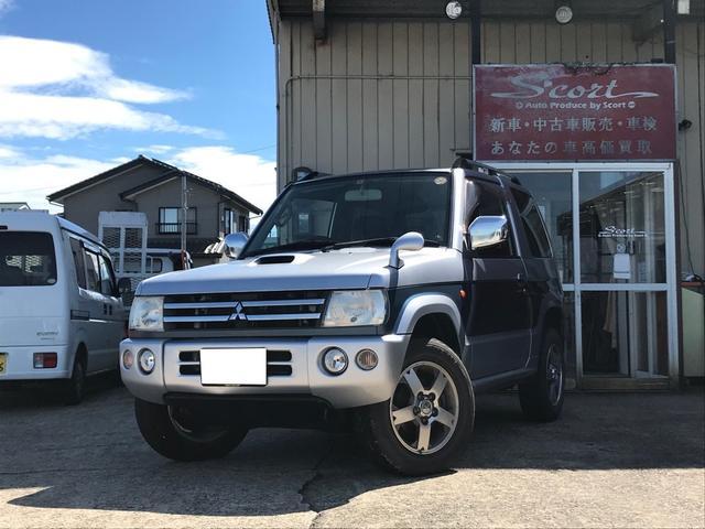 三菱 XR 4WD AW オーディオ付 ETC 4名乗り クロカン