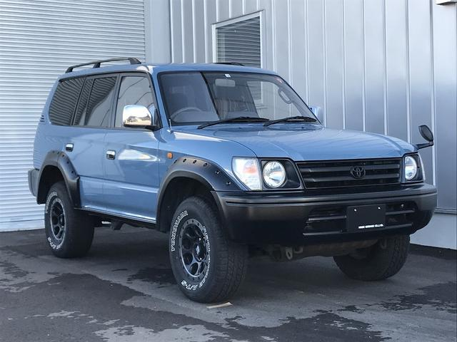 トヨタ TX 全塗装 丸目ライト Dターボ 4WD フルセグナビ バックカメラ ETCエンジンスターター付き