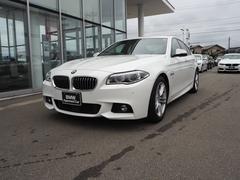 BMW523i Mスポーツ LED 黒レザー ACC 認定中古車