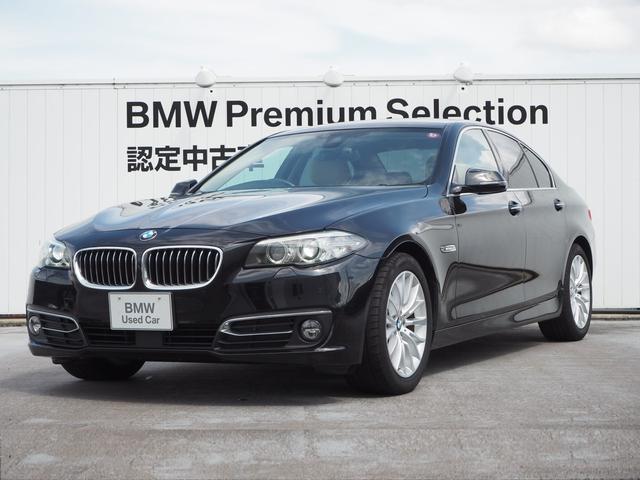 BMW 523d ラグジュアリー 認定中古車 アイボリーレザー ACC 障害物センサー
