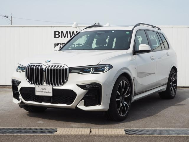 BMW xDrive 35d Mスポーツ 認定中古車 6人乗り 22AW ウェルネスPKG スカイラウンジ