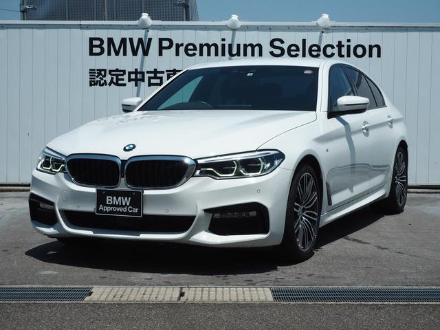 BMW 523d Mスポーツ 認定中古車 1年保証 純正19AW 純正HDDナビ 前周囲カメラ