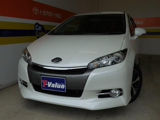 トヨタ 1.8S HIDライト 純正アルミ CD再生機能 3列シート