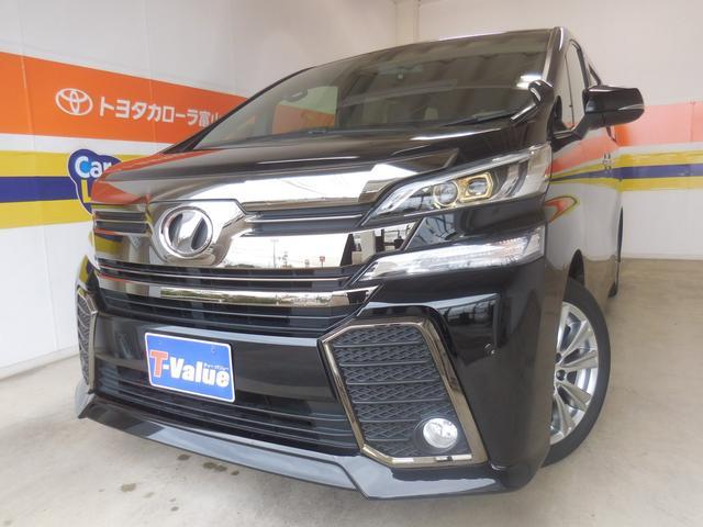 トヨタ 2.5Z Aエディション ゴールデンアイズ  後席モニター