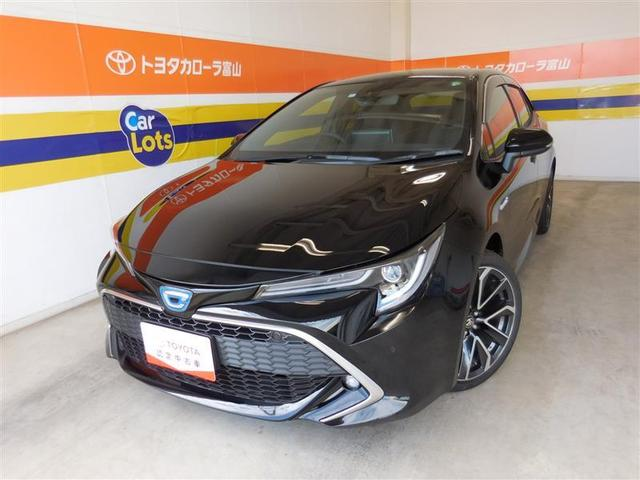 トヨタ カローラスポーツ ハイブリッドG Z サポカーS クルコン バックモニター LED サイドエアバック 純正アルミ スマートキー ディスプレイオーディオ シートヒーター